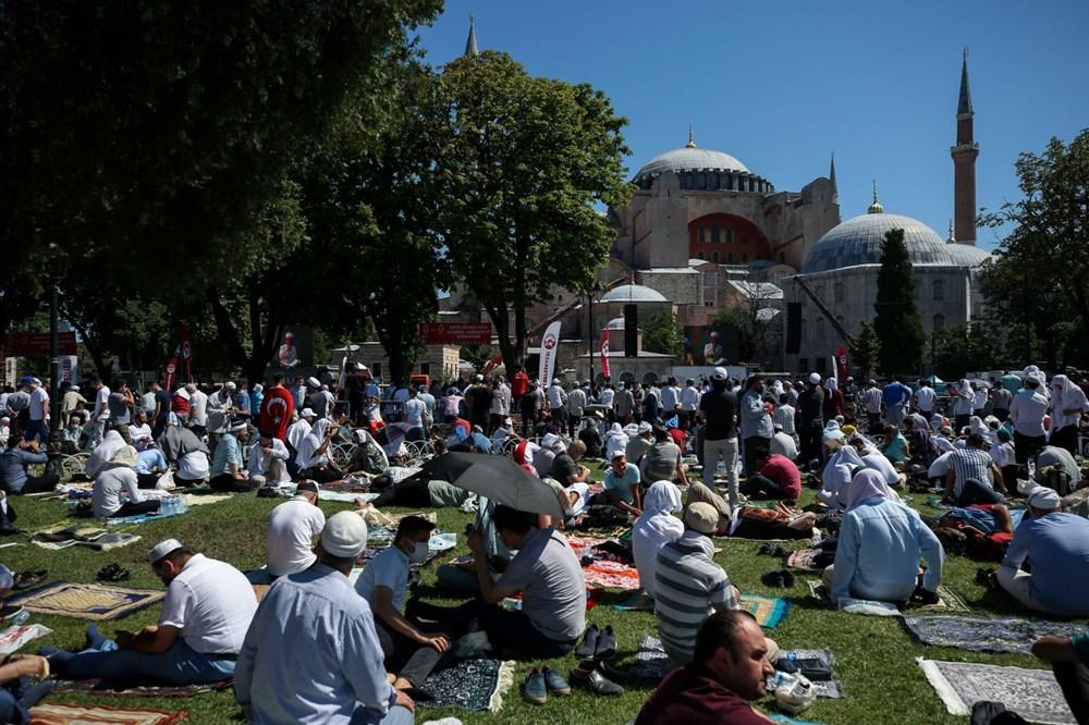 Ayasofya-i Kebir Camii Şerifi ibadete açıldı (Ayasofya'da 86 yıl sonra ilk namaz) - 22
