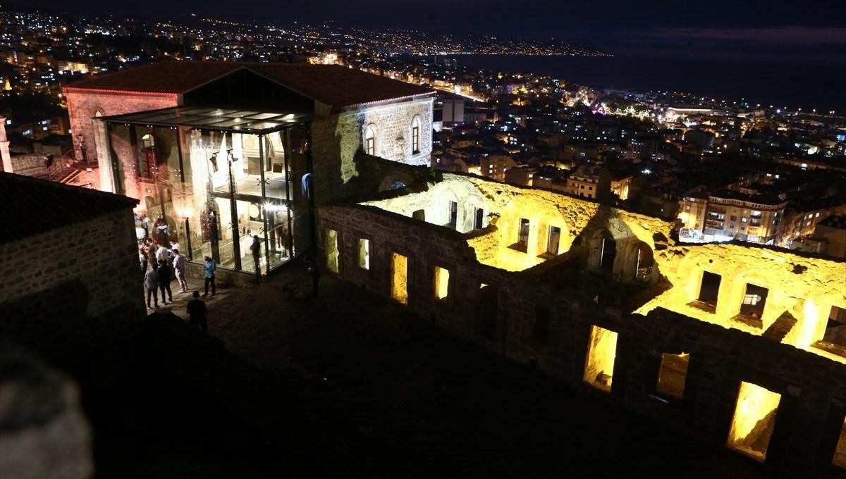 Trabzon'da restorasyonu tamamlanan Kızlar Manastırı ziyarete açıldı