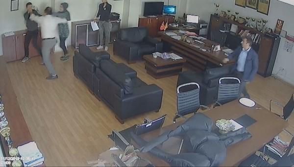 Müdür odasında öğrenciyi darbeden veli hakkında suç duyurusu