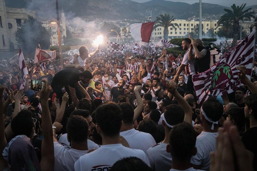 Hatayspor'un şampiyonluğu kentte büyük bir coşkuyla kutlanıyor - 3