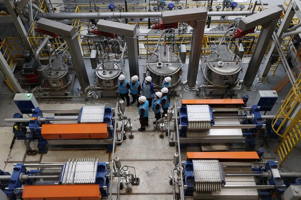 Türkiye'nin ilk lityum üretim tesisi resmen açıldı - 5