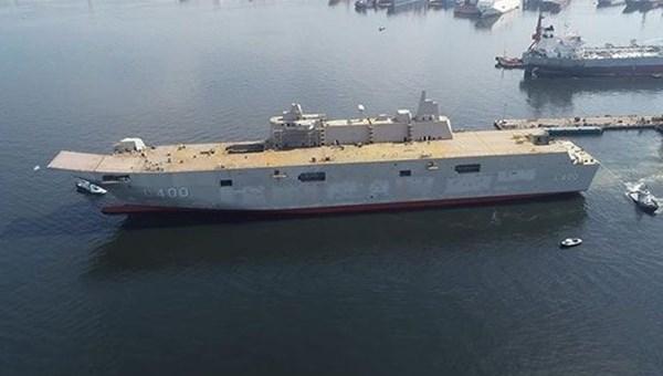 Türkiye'nin en büyük savaş gemisi için tarih verildi (Türkiye'nin yeni nesil yerli silahları)