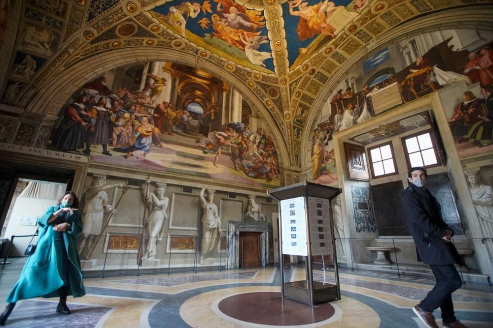 Vatikan Müzesi açıldı - 5