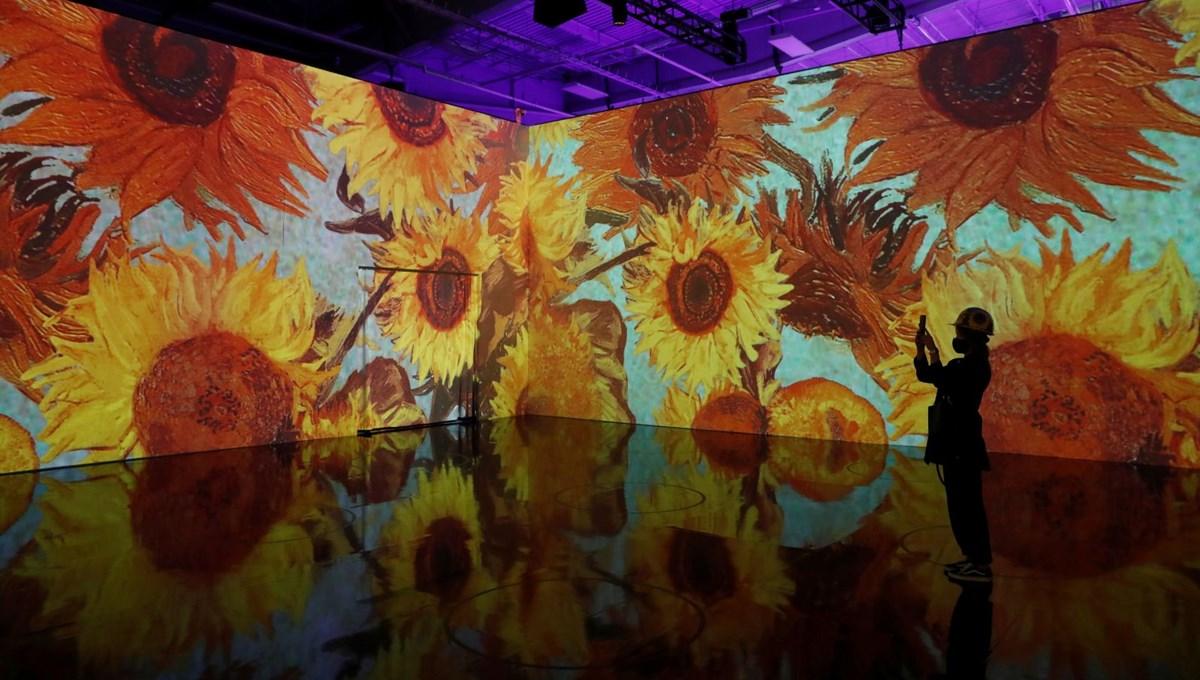 Vincent van Gogh sergisinde teknoloji ve sanat birleşti: Sürükleyici Van Gogh