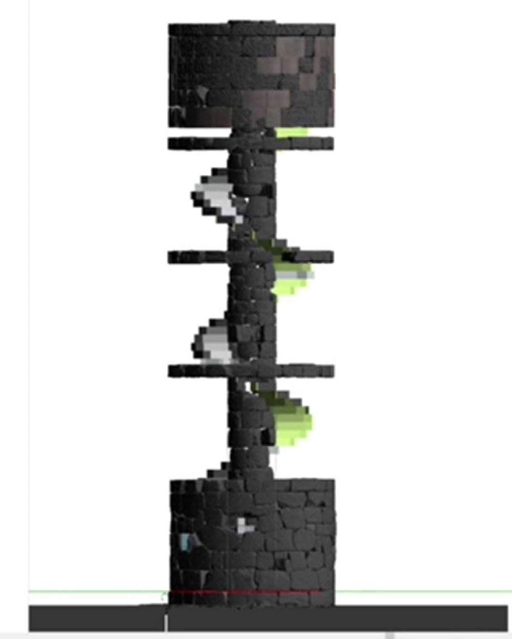 Tarihi Patara Deniz Feneri orijinal taşlarla yeniden ayağa kaldırılıyor - 4