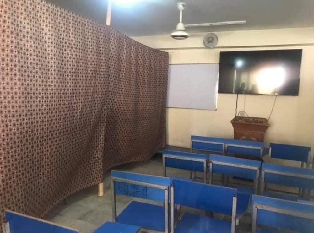 Afganistan'da eğitim başladı: Kız ve erkek öğrenciler perdeyle ayrıldı - 5
