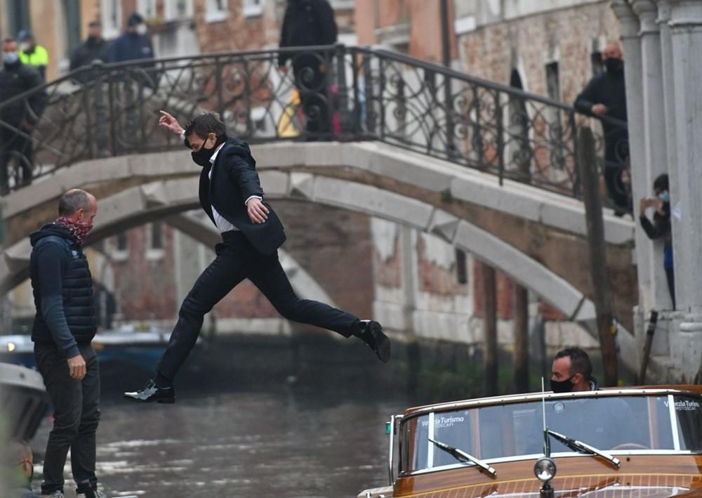 Tom Cruise Görevimiz Tehlike 7 filminin Venedik'teki setinde - 3