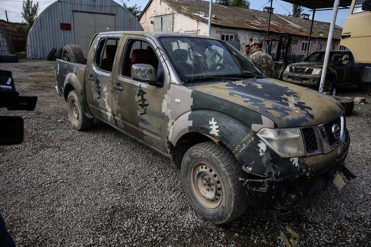 Azerbaycan ordusu, topraklarını işgalden kurtarmak için başlattığı operasyonda, Ermenistan ordusuna ait çok sayıda silah, mühimmat ve araç ele geçirdi.