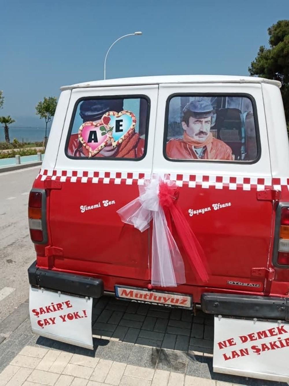 Çiçek Abbas filmindeki minibüsü yapmak için 60 bin TL harcadı - 5