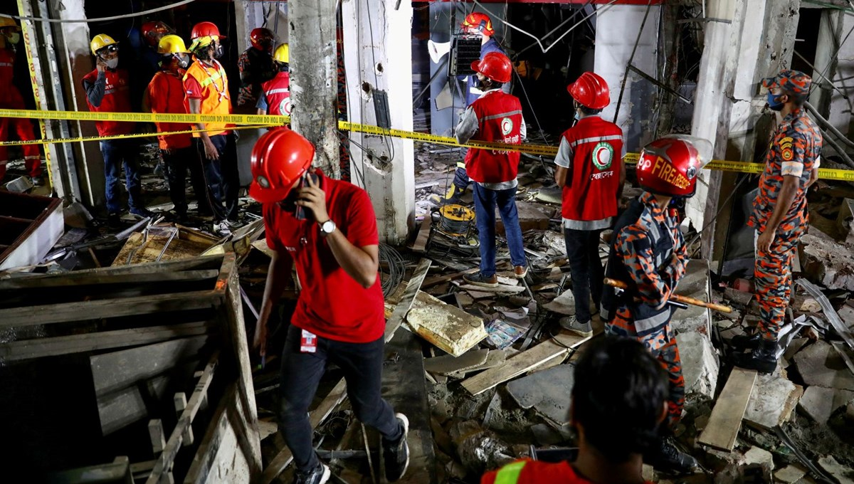Bangladeş'te patlama: 7 ölü