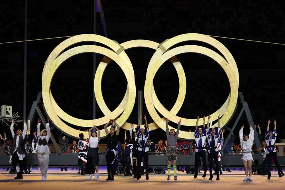 2020 Tokyo Olimpiyatları görkemli açılış töreniyle başladı - 53