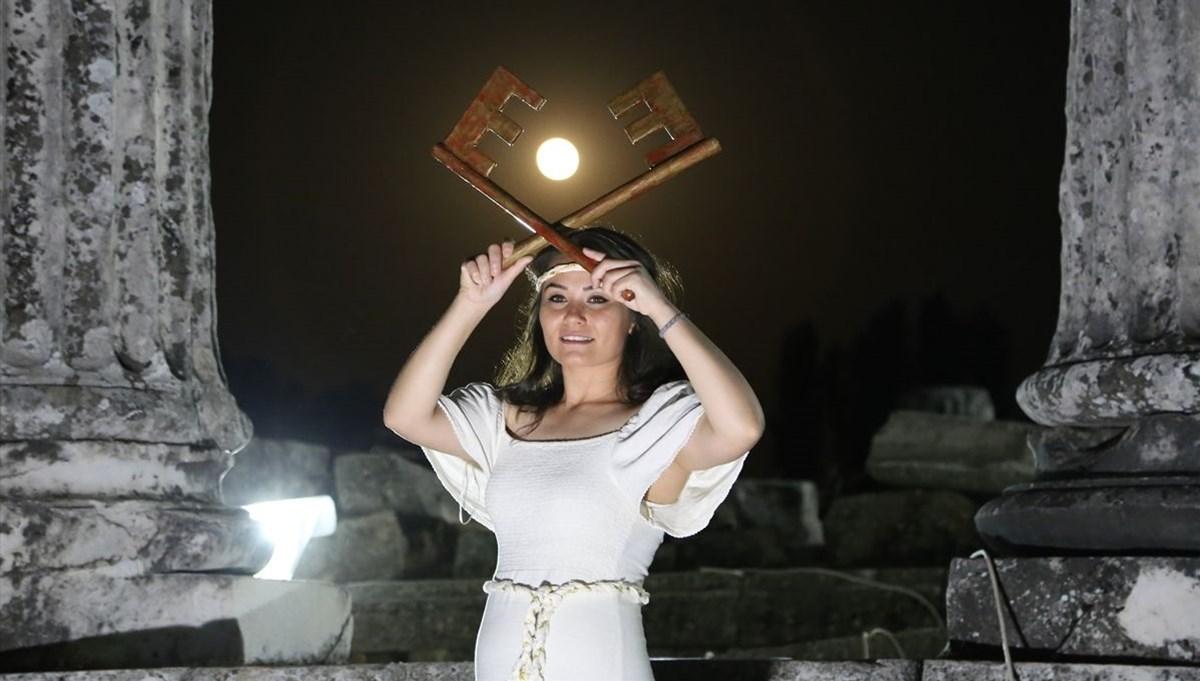 Muğla'da Stratonikeia belgeselinin çekimleri başladı