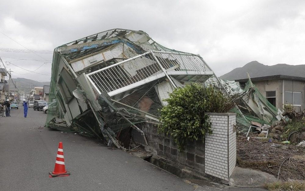 Japonya'nın güneybatısını vuran Haişen tayfununda 2 ölü, 100'den fazla yaralı - 9