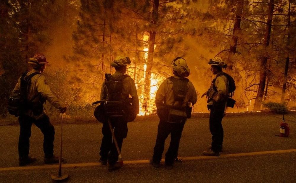 California'da orman yangınları evleri küle çevirdi - 5