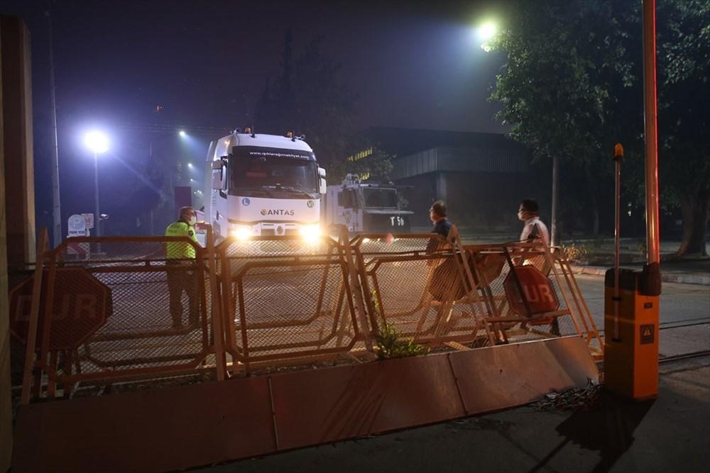 Milas'ta yangın bölgesindeki vatandaşlar tahliye ediliyor - 6