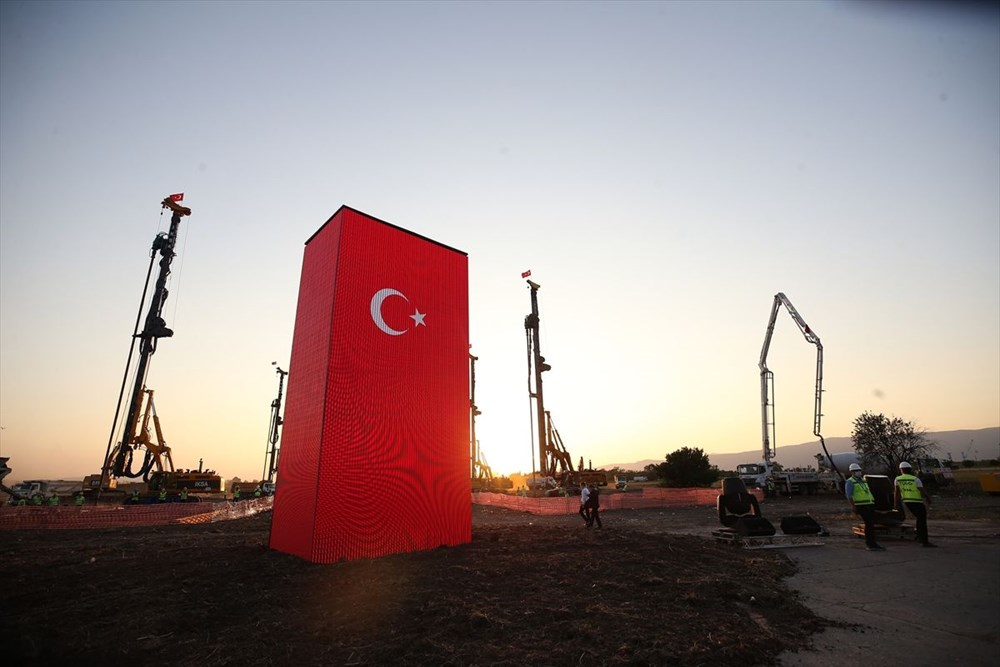 Türkiye'nin Otomobili fabrikasına ilk harç: 18 ayda tamamlanacak - 1