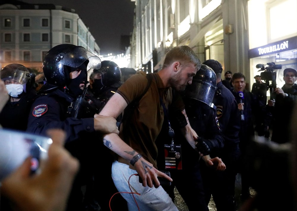 Rusya'da Putin karşıtı protesto: 130 gözaltı - 12