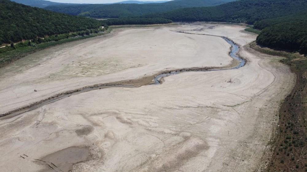 İstanbul'un su ihtiyacını karşılayan Trakya'daki barajlar kurudu - 9