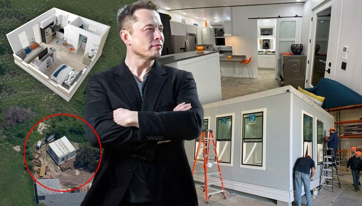 Elon Musk'ın evi ortaya çıktı: 35 metrekare büyüklüğünde, değeri 50 bin dolar