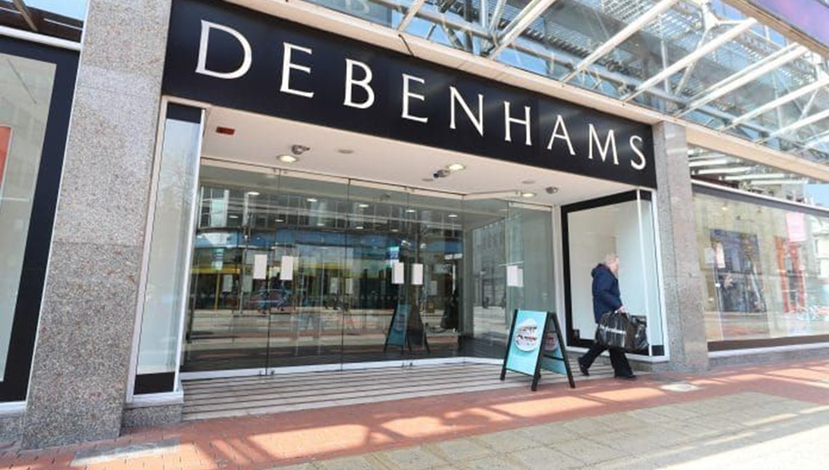 Debenhams in England has decided to close all its stores