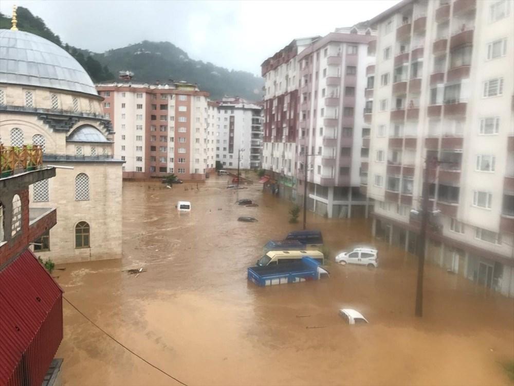Şiddetli yağış Rize'yi de vurdu: 2 can kaybı - 19