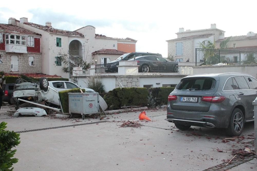 İzmir'de hortum felaketinin boyutları gün ağarınca ortaya çıktı - 12