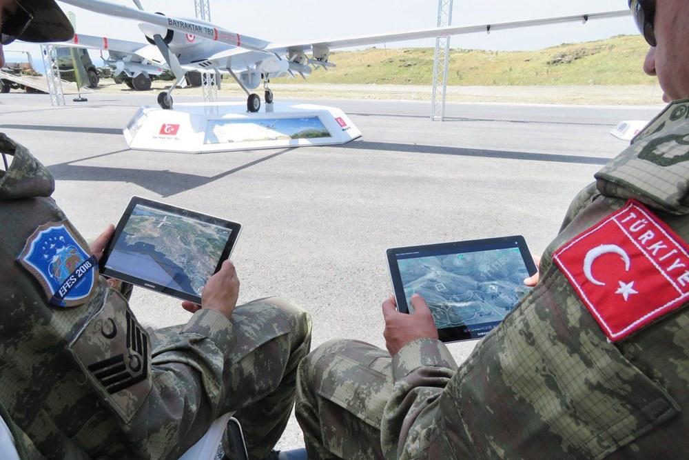 Aksungur tam yüklü mühimmatla 1 günden fazla uçtu (Türkiye'nin yeni nesil silahları) - 177