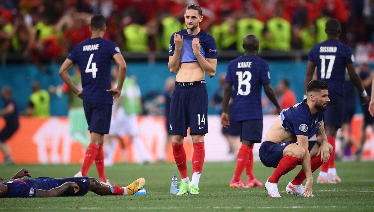 SON DAKİKA:EURO 2020'nin favorilerinden Fransa elendi, İsviçre çeyrek finalde