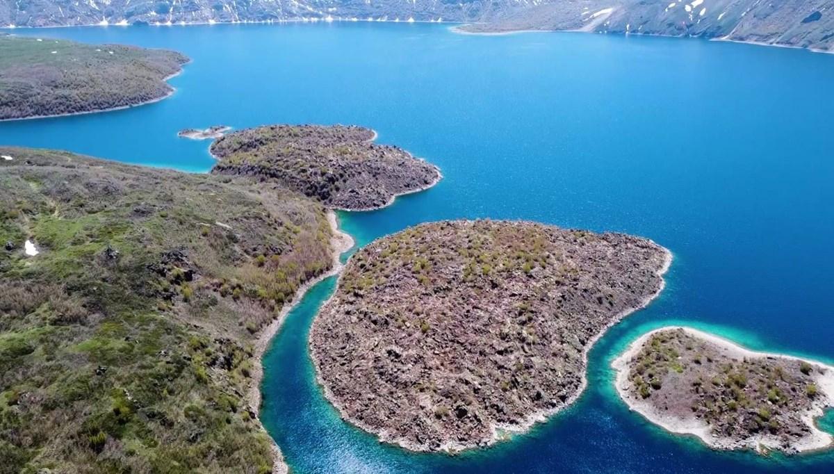 Bitlis'te yeryüzü cenneti Nemrut Kalderası 'kesin korunacak hassas alan' ilan edildi