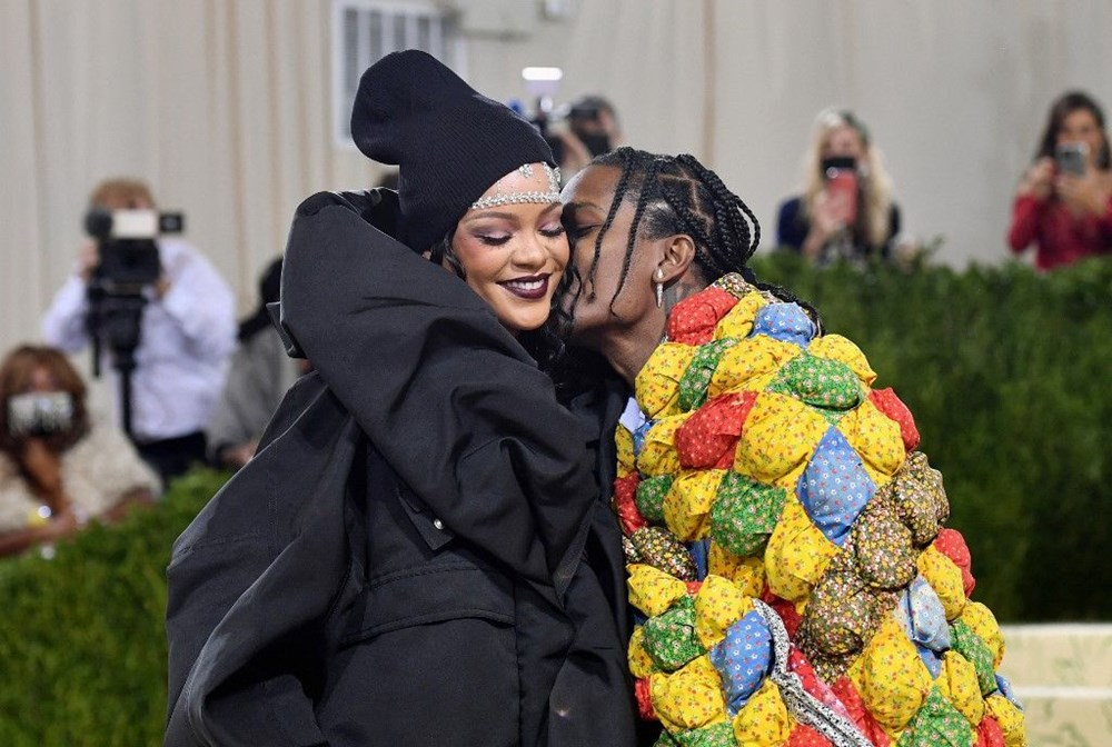 A$AP Rocky'nin Met Gala'daki yorganının sırrı ortaya çıktı - 4
