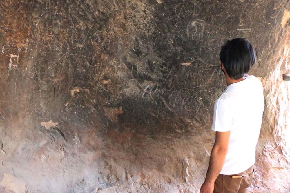 Palanlı Mağarası defineciler tarafından tahrip edildi - 9