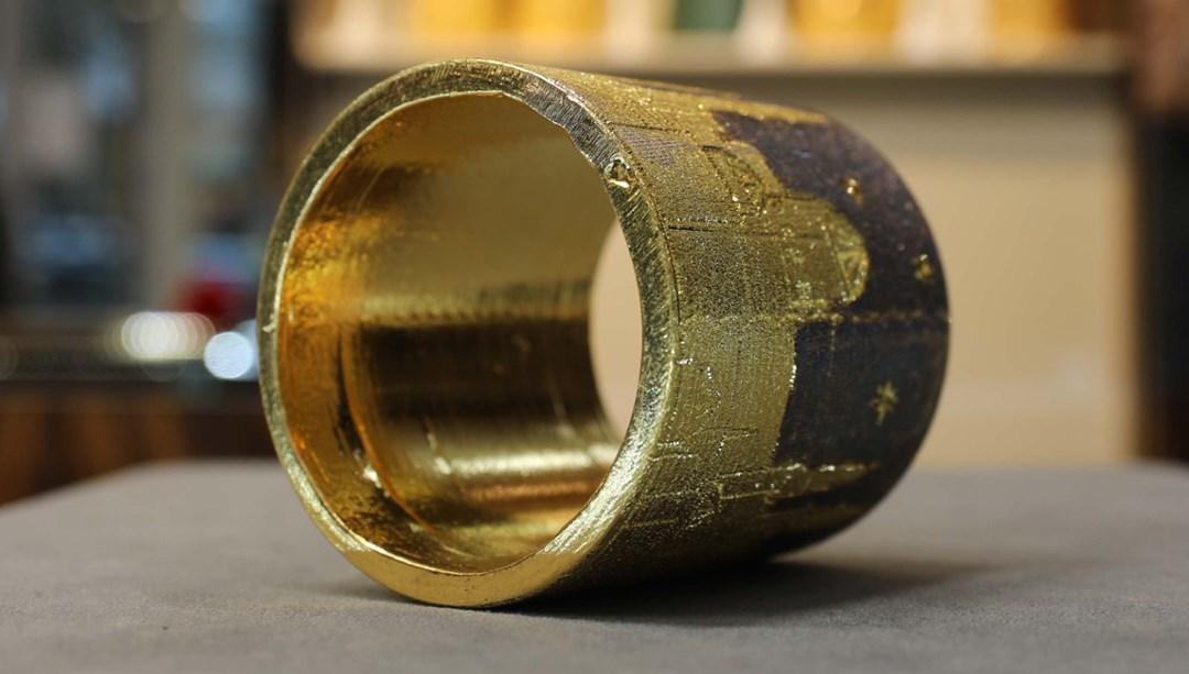 2 kiloluk altın bilezik yaptı: Fiyatı 1 milyon TL thumbnail