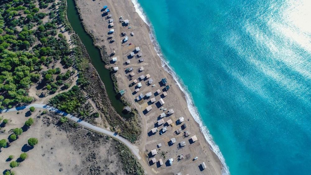 Lüks tatilin bedavaya sunulduğu 'Çardak Beach' çöplük oldu - 23