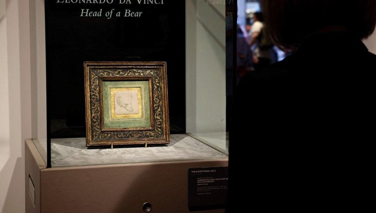 Leonardo da Vinci Bir Ayının Kafası çizimine rekor fiyat tahmini