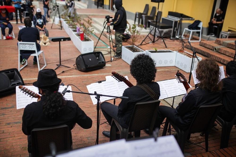 Bogota Filarmoni Orkestrası hayvanların korunması için konser verdi - 4