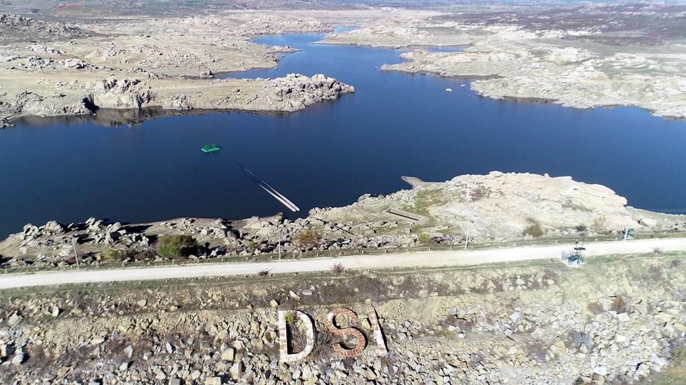 Edirne'nin içme suyunu sağlayan baraj kurudu: 36 saatlik kesinti - 13