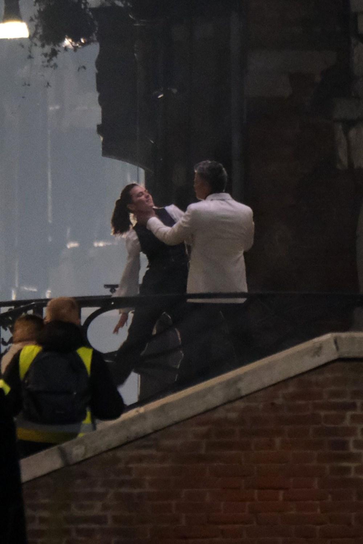 Görevimiz Tehlike 7 (Mission: Impossible 7) filminin dövüş sahnesi böyle çekildi - 3