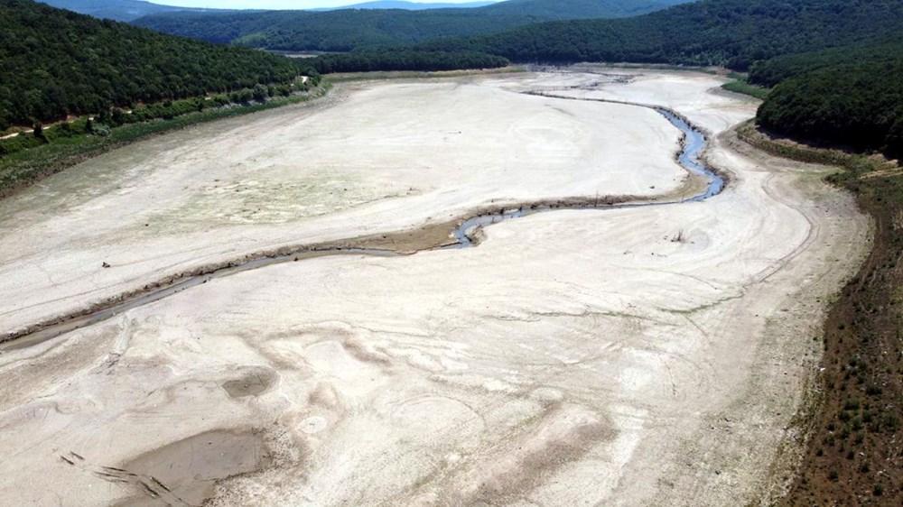 İstanbul'un su ihtiyacını karşılayan Trakya'daki barajlar kurudu - 1