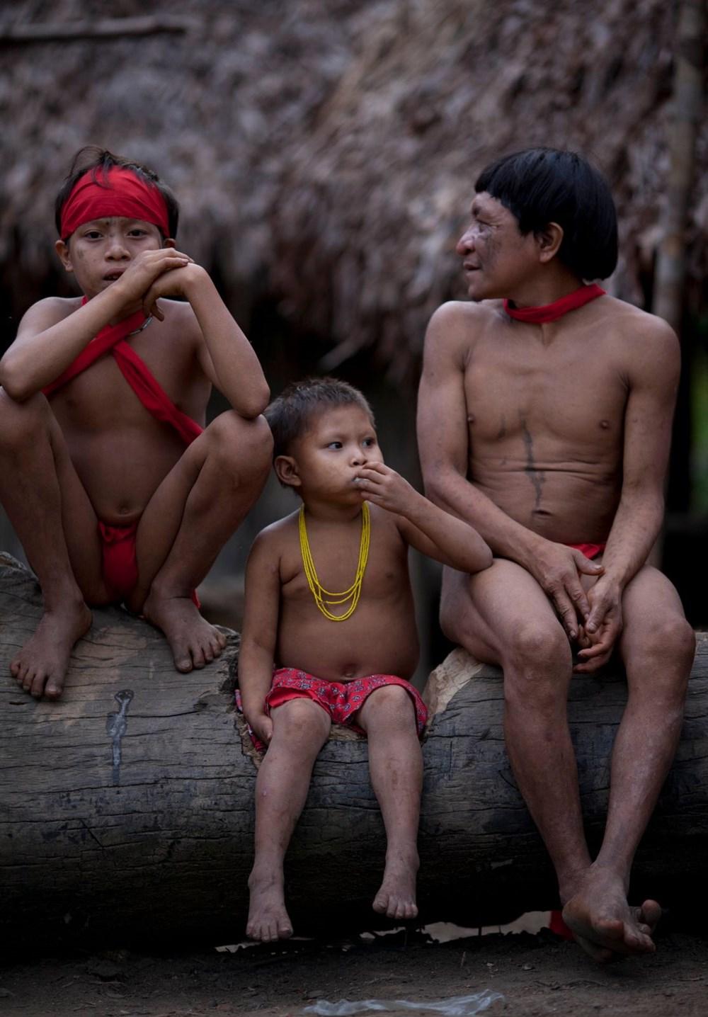 Amazon'un son  kabilesi altın avcıları nedeniyle tehlikede - 7