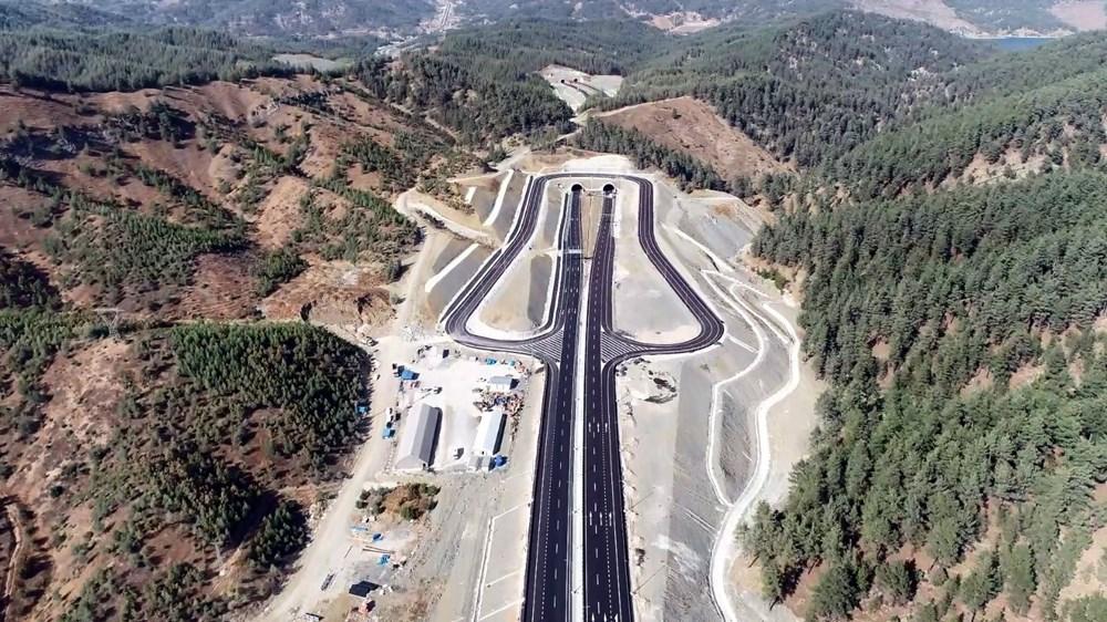 11 tünelli Kahramanmaraş-Göksun yolu açıldı: Süre 39 dakika kısalacak - 4