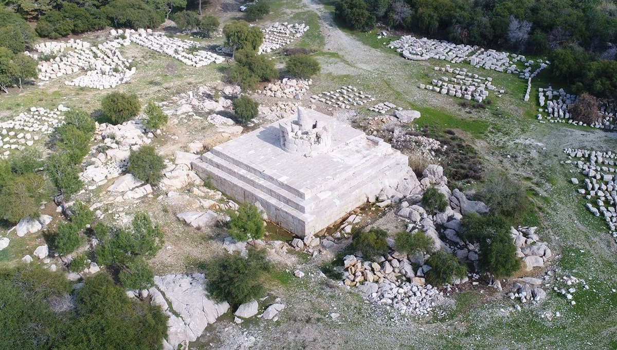 539 yıl önceki depremin yıktığı Patara Deniz Feneri'ne deprem önlemi