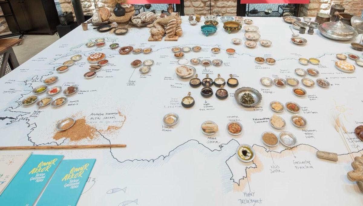 Şef Ömür Akkor'dan Türkiye'nin Gastronomi Atlası