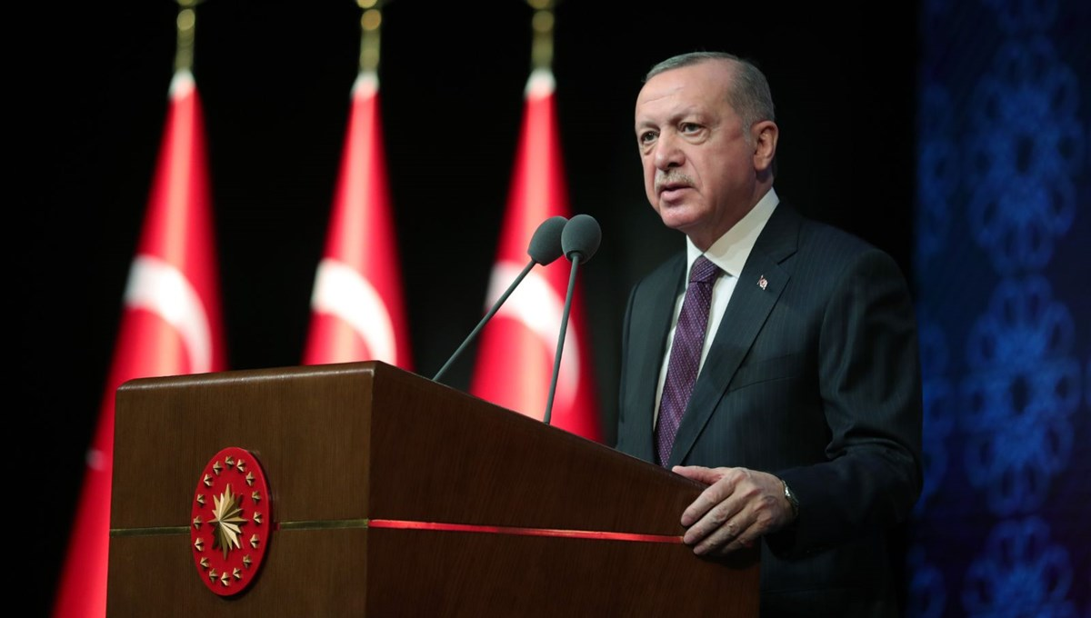 Message from President Erdoğan on March 14