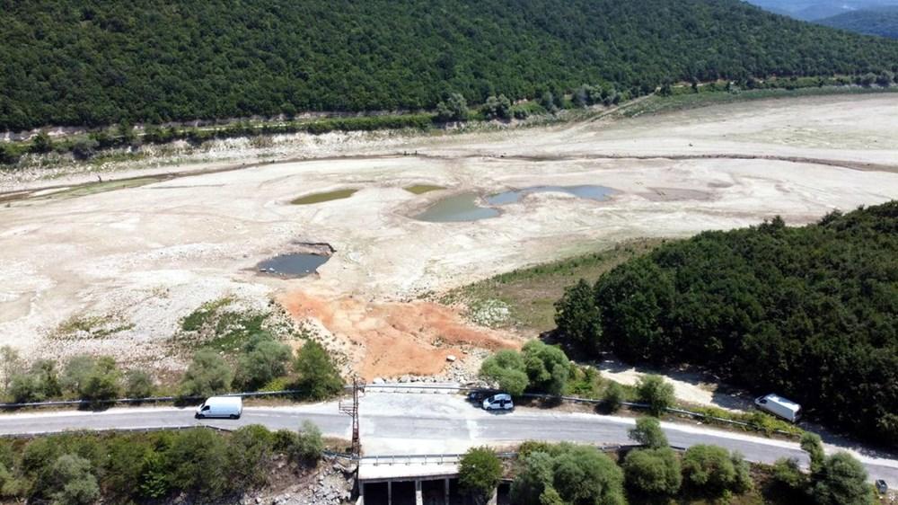 İstanbul'un su ihtiyacını karşılayan Trakya'daki barajlar kurudu - 8