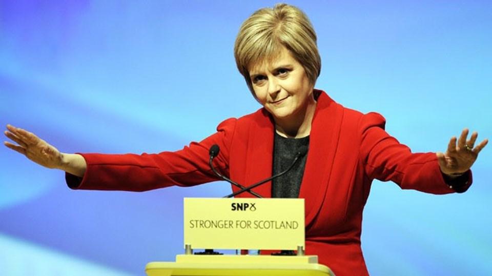 İskoçya Başbakanı ve İskoç Ulusal Partisi (SNP) lideriNicola Sturgeon