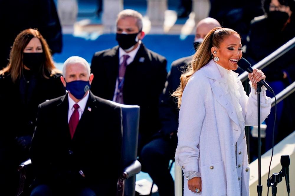 Yemin töreninde Jennifer Lopez'den İspanyolca mesaj - 3