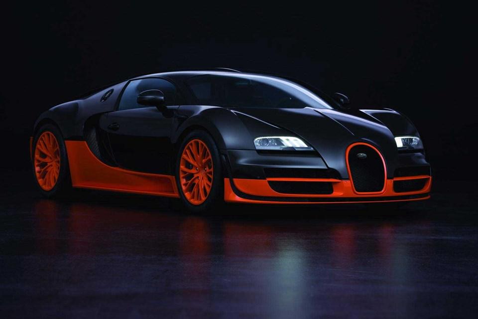 Hız rekoru kıran modelin renk kombinasyonu. Sadece 5 adet üretilmiş...