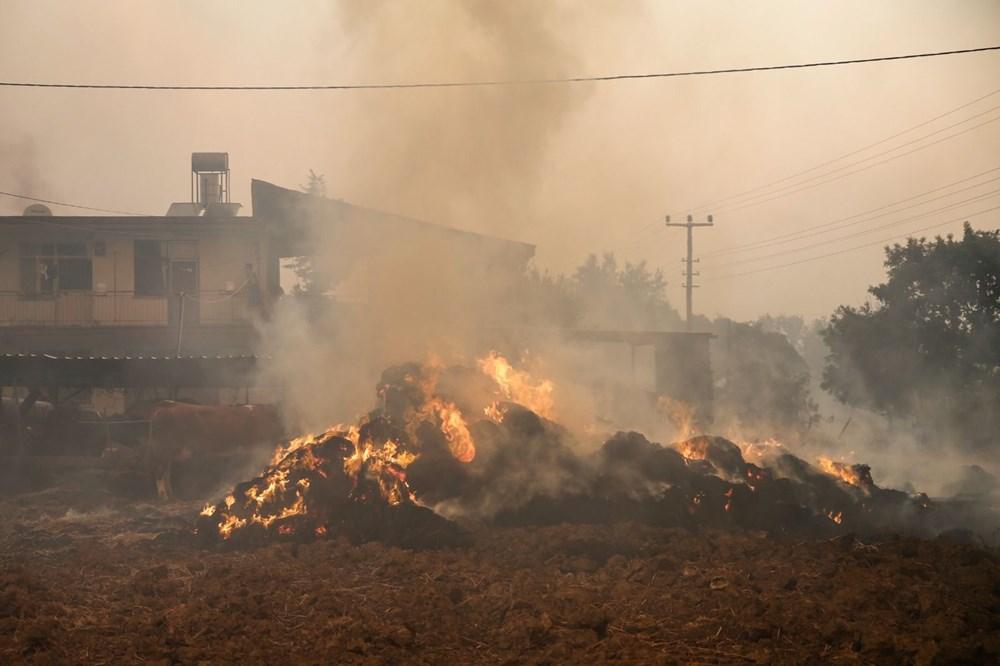 Antalya Manavgat'ta yangın: 3 ölü - 12