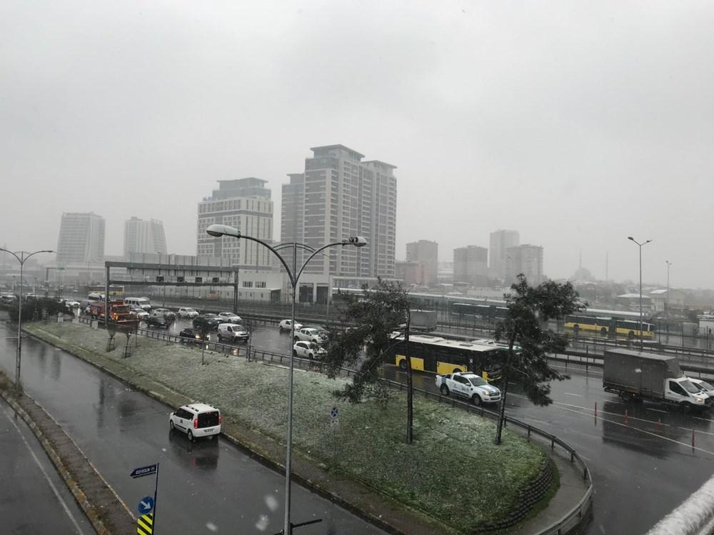 İstanbul'da beklenen kar yağışı başladı - 3
