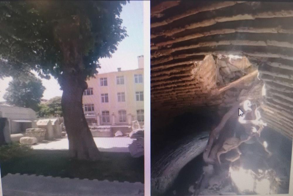 Ayasofya'da yer altı yapıları keşfedildi - 5
